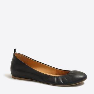 J. Crew Black Anya Ballet Flats Size 6